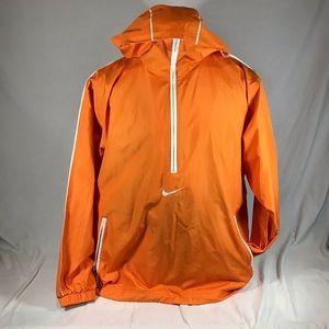 Vintage Nike Swoosh Windbreaker Jacket Hood 1/4Zip
